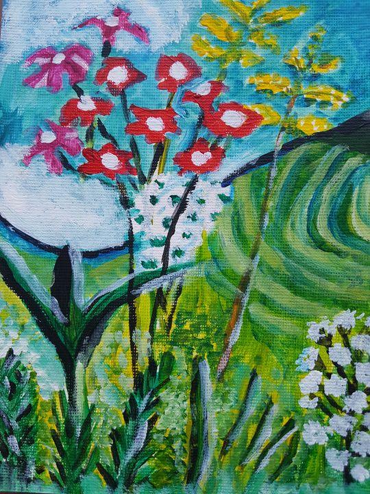 Irish summer flowers - Patricia Lawlor