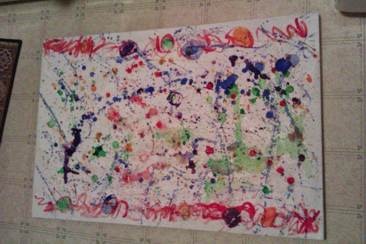 Rock and Roll with Jackson Pollock - Galeria Diana Maianu