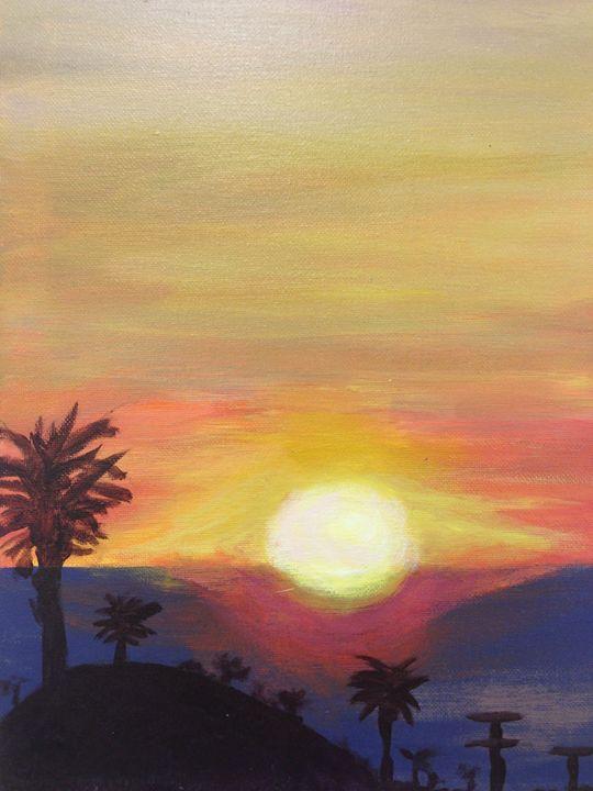 Windansea Sunset - My Paintings