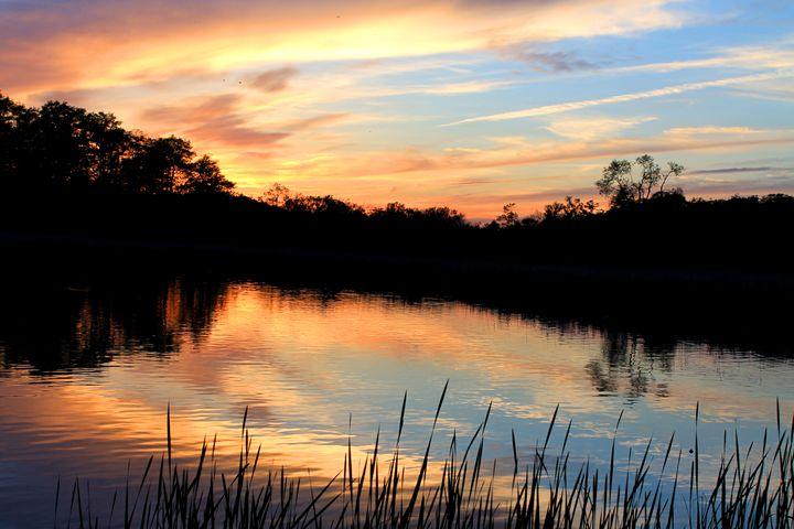beatiful sunset - Mrs.V