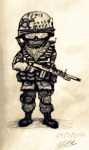 Black Skull Regiment militiaman