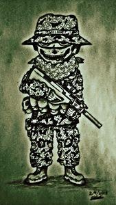 Skull Balaclava Soldier