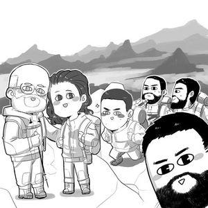 Comic commission sample