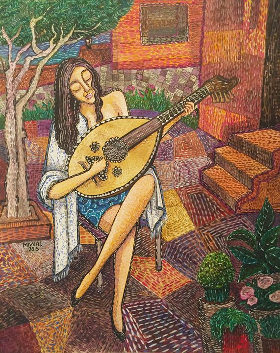 Music in the garden - Manal art