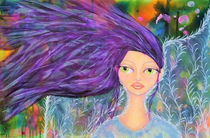 Annabelle the Angel - ElnaVlokArt