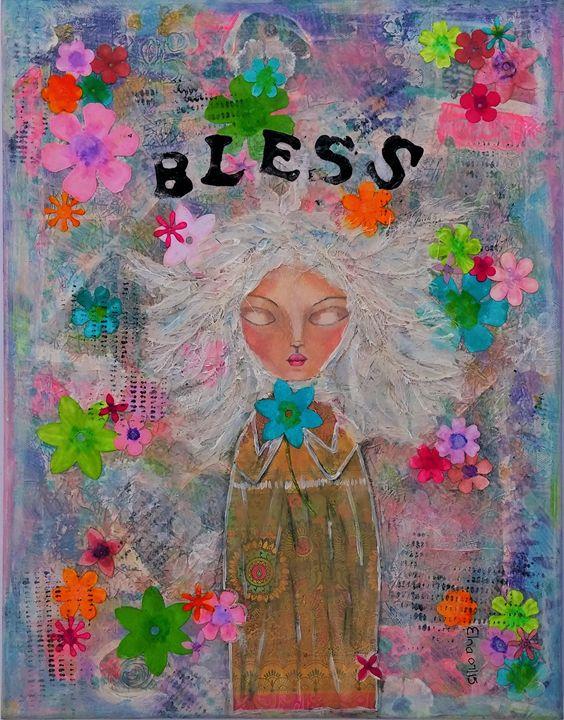 Bless - ElnaVlokArt