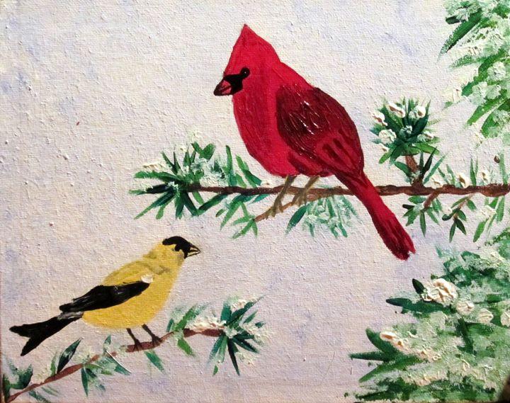 Winter Birds - Stacy Krise