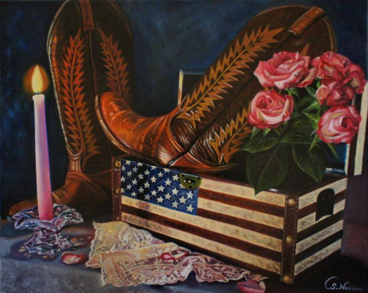 Cowboy Boots - Sue Nomura Fine Art Studio
