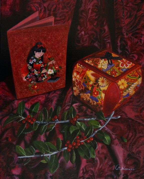 Memory of Japan - Sue Nomura Fine Art Studio