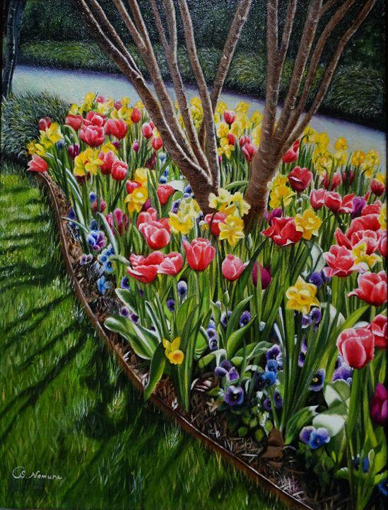 Dallas Arboretum Garden - Sue Nomura Fine Art Studio
