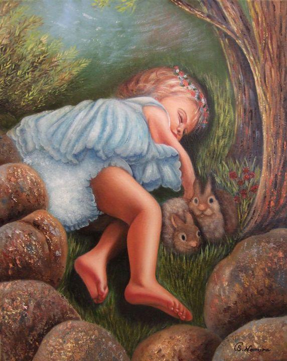 Angel? - Sue Nomura Fine Art Studio