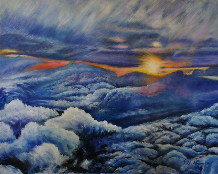 Sea of Clouds - Sue Nomura Fine Art Studio