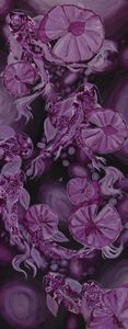 Purple Henna Koi - Sweet Caroline's Art
