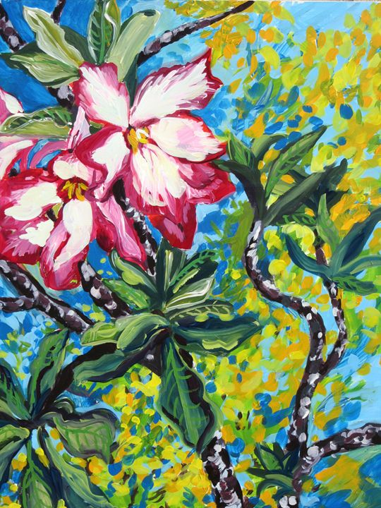 Desert Rose - Karima's Art