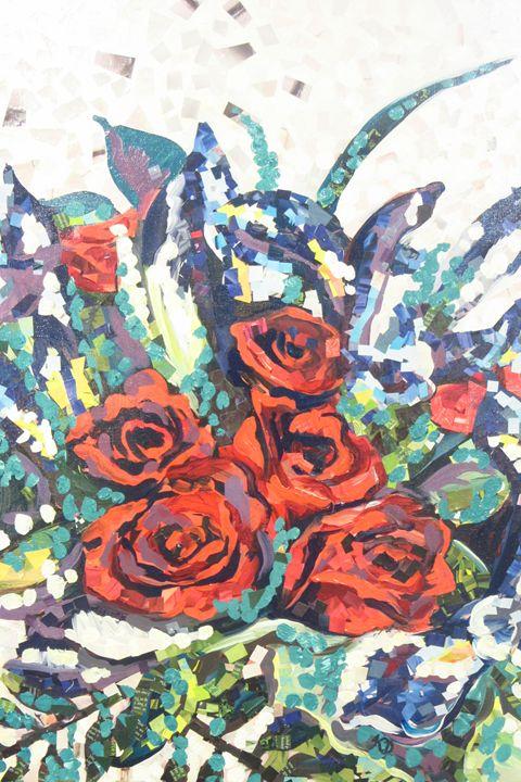 Resplendent Roses - Karima's Art