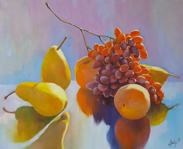Still life with pears - AndyArtSpace
