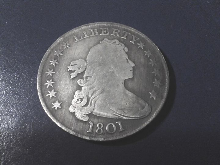 1801 Draped Bust Dollar #3 - THE DRAPED BUST DOLLAR