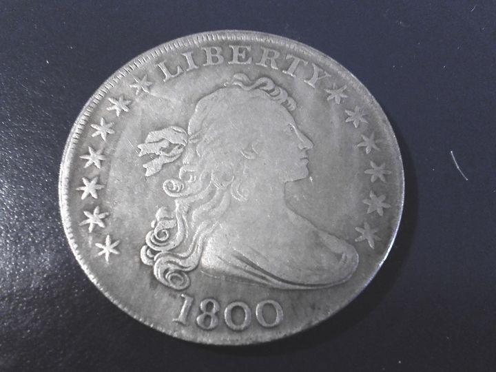 1800 Draped Bust Dollar #2 - THE DRAPED BUST DOLLAR