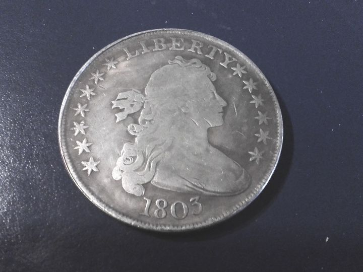 1803 Draped Bust Dollar.   #3 - THE DRAPED BUST DOLLAR