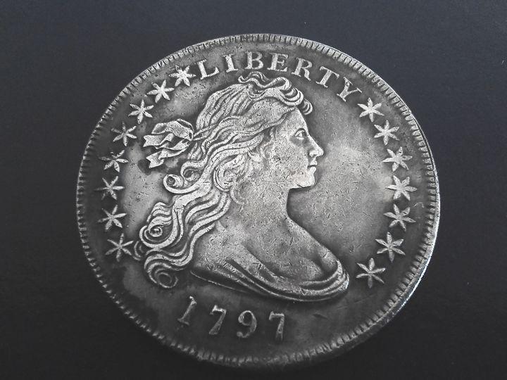 1797 Draped Bust Dollar #2 - THE DRAPED BUST DOLLAR