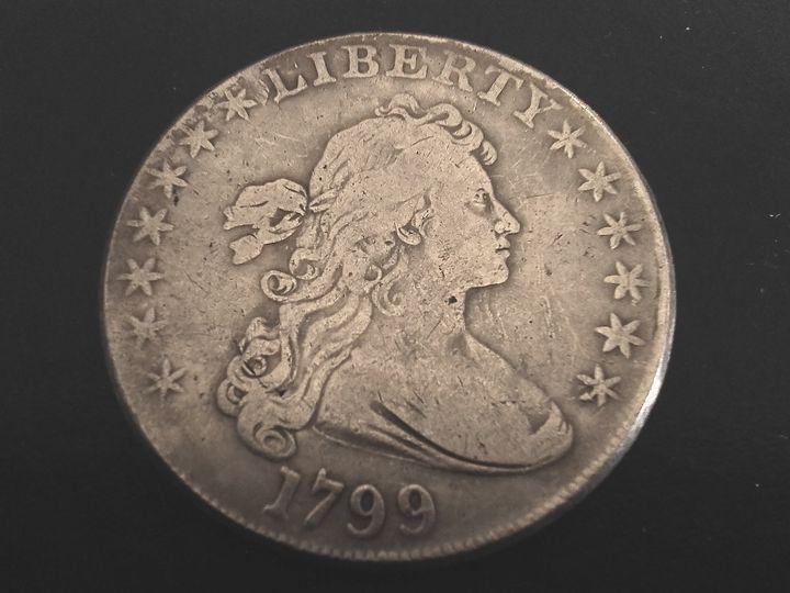 1799 Draped Bust Dollar #3 - THE DRAPED BUST DOLLAR