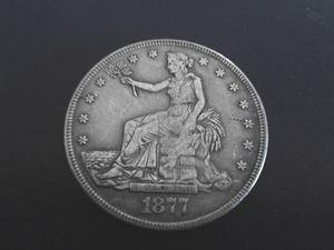 1877 CC  Trade Dollar #2