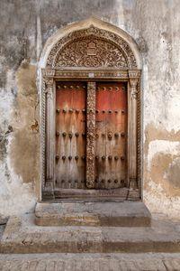 Zanzibar Carved Door