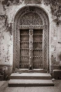 Zanzibar old royal door