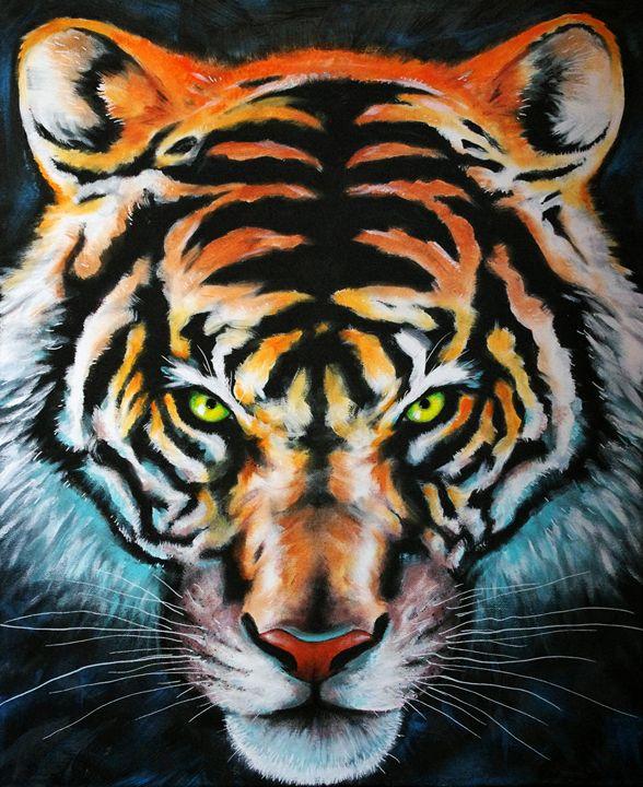 Tiger face - Vinadelle