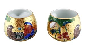 Golden Mandarin Duck Mug