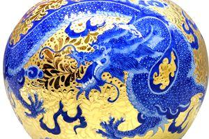 Golden Dragon treasure bow