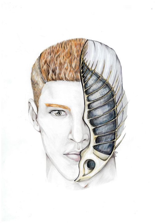 Pisces - Schizophrenic art