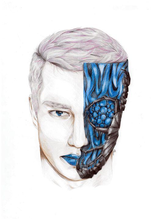 Scorpio - Schizophrenic art