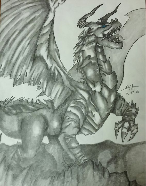 Ancient Dragon - Ryan's Art