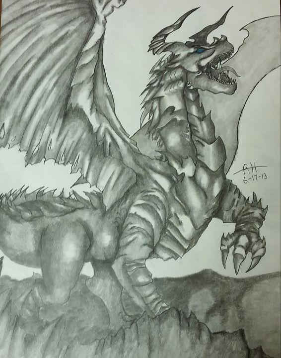 Ancient Dragon - Ryan's Art