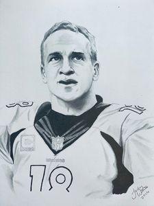 Peyton Manning - JW Sketch Art