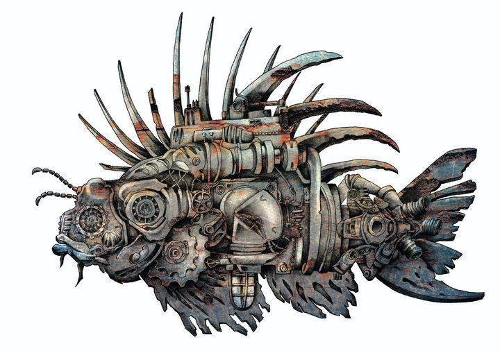 Mechanical fish - Bushy_Zerg