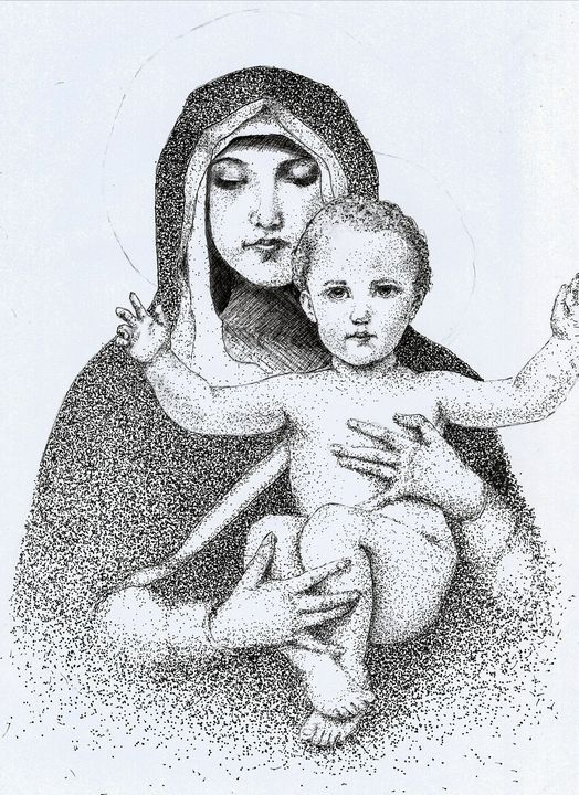 Madonna and the Child - Batuhan Coskuner
