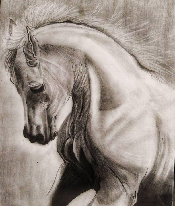 Arabian horse - Fezzy art