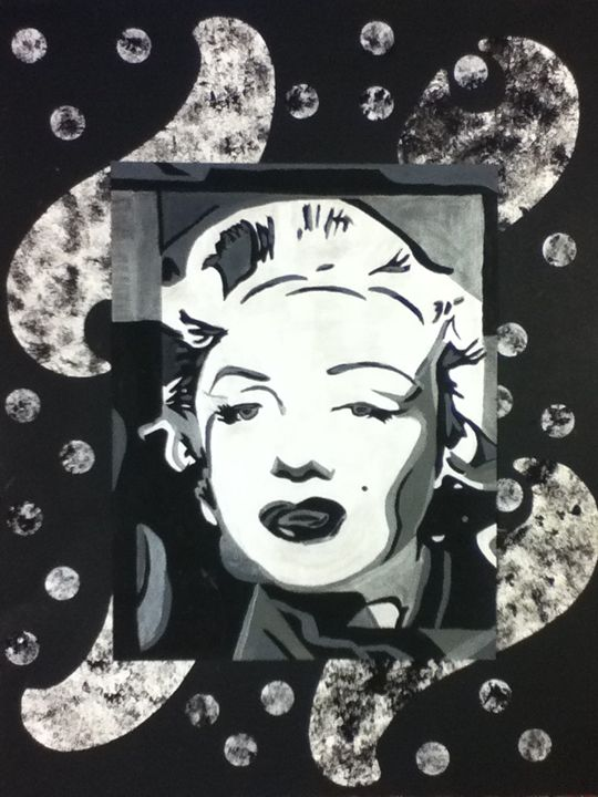 """Marilyn Collage"" - Linda Orr"