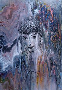 AUDREY HEPBURN, by Alex Radchenko