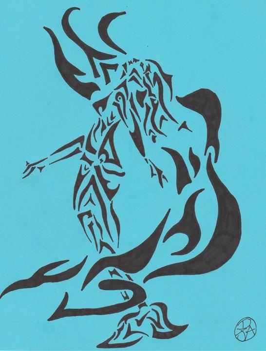 Tribal Mermaid - Day Dream Designs