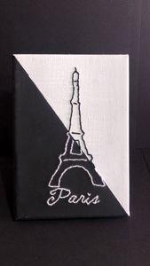 Paris Line Art Embroidery