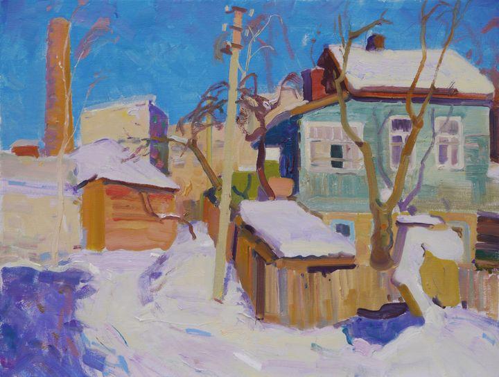 Chernigov. Sunny day in January - Victor Onyshchenko