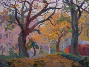 Trees on Tolstoy Street