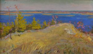 Over Dnieper River