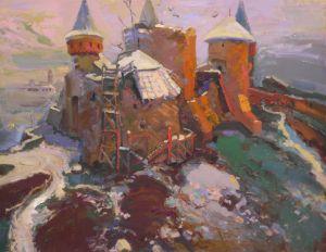 Castle in Kamyanets Podolsky