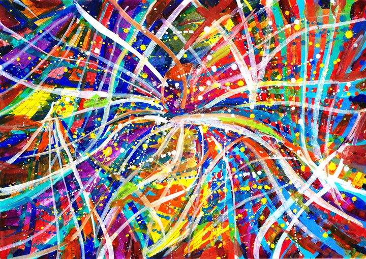 Colorful Chords - Art Expression
