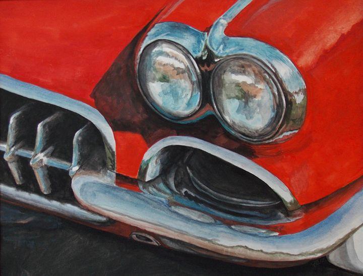 Red Corvette - Keltucky