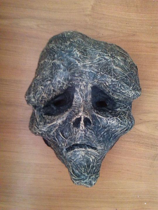Mask of Living Death | Paper Mask - Papyromancer